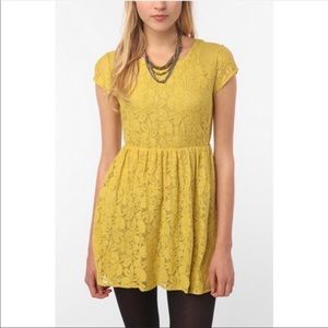 Coincidence & Chance | Mustard Yellow Revel Dress